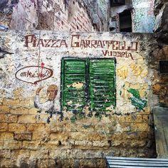 Piazza Garraffello- Vucciria-Palermo- Sicilia- Streetart