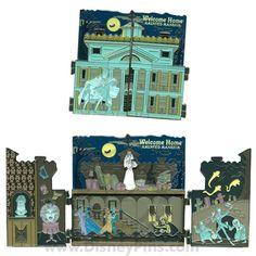 """""""Haunted Mansion® O'Pin House - Diorama Jumbo Pin"""" neeeeeeeeed"""