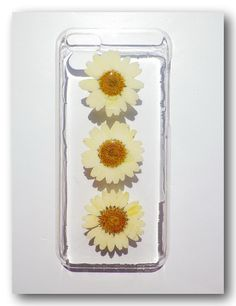 Handmade iPhone 5C case Resin with Dried Flowers  by Annysworkshop, $18.00