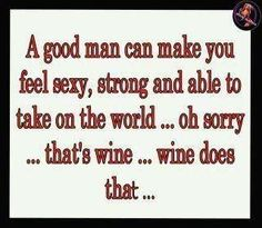 That's why we love wine!