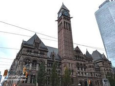 Toronto City, Downtown Toronto, Paranormal Activities, Roof Lines, Main Entrance, Front Elevation, Romanesque, Old City, Historical Sites