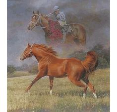 Fred Stone - Final Tribute, Secretariat -  Signed & Numbered Print