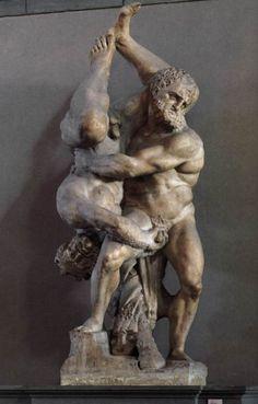 michelangelo sculpture the wrestlers - Google Search