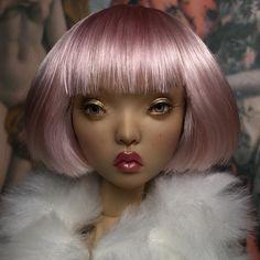 Парик для кукол сестёр Поповых. Продан! Парик поддаётся укладке, а так же длину челки можно регулировать глубиной посадки парика на голову♀️/ The wig for Popovy sisters dolls. Sold! You can stylish this wig as you wish, and you can also adjust the length of the bangs by the depth of the wig's fit on the head♀️ #wig #ooak #ooakdoll #custom #doll #hairstyle #hair #dollwig #wigfordoll #парик #парикдлякукол #olikrolik #olgakamenetskaya #popovysisters