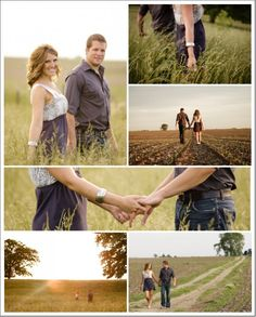 I love the rustic feel here, especially since we're getting married in a barn.