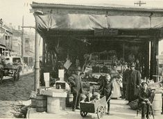 The French Market In New Orleans, Louisiana In 1912
