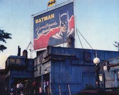 Batman the ride at Six Flags parks Tv Themes, Six Flags, Attraction, Parks, Movie Tv, Concept Art, Broadway Shows, Batman, Conceptual Art