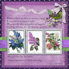 Featured Layout made with Swan Song by ADB-Designs.  By Faith A: I was drawn to the flower journal cards included in the kit. I decided to make them the focus of my page. #CTHS