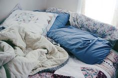 """""""It's Sunday,""""claims the bed, """"come back for a nap."""""""