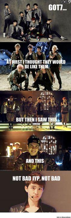 Got surprised by Got7 | allkpop Meme Center