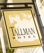 Tallman Hotel in Lakeport Ca. I love the old hotel and vintage look for an outside wedding