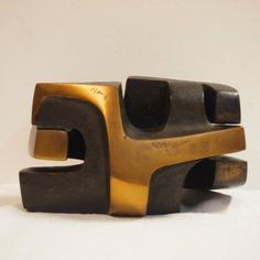 Dekeijser André (1958) :  Sculpture en 2 éléments,
