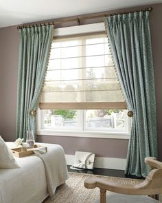Drapery Ideas - CLICK THE PICTURE for Various Window Treatment Ideas. #curtains #windowcoverings