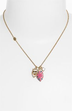 'Warrior Princess' Shield Pendant Necklace. normally I'm not a big fan of Juicy Couture, but this is kindof awesome.