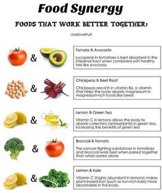Food that work better together