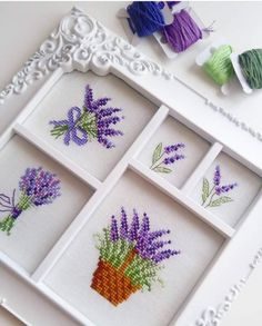 This post was discovered by Hü Tiny Cross Stitch, Cross Stitch Flowers, Cross Stitch Charts, Cross Stitch Designs, Cross Stitch Patterns, Cross Stitching, Cross Stitch Embroidery, Hand Embroidery, Crochet Bedspread