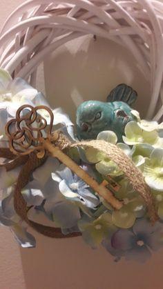 Kék madár és hortenzia...