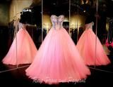 Strapless Pink Ball Gown - Rsvp VP - Long Gown - Rsvp Prom and Pageant Atlanta, Georgia GA