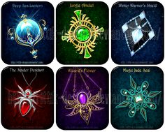 Magic items (set 10) - Sale! by Rittik-Designs on DeviantArt