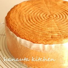 I added vegetable oil to a sponge cake recipe so that it would rise more.