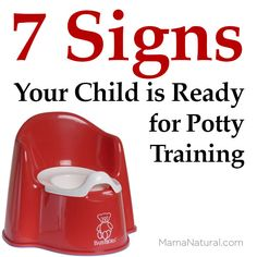 7 Signs Your Child is Ready for Potty Training. Figure out how to tell if your child is ready for potty training or not. Leyla Rose, Potty Training Girls, Baby Potty, Toilet Training, Baby Hacks, Raising Kids, Training Tips, Toddler Activities, Kids And Parenting