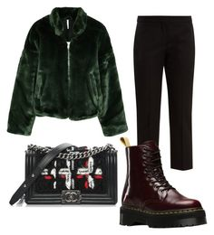 """""""#4"""" by josecamerano on Polyvore featuring moda, Alexander McQueen, Free People, Dr. Martens y Chanel"""