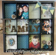 I love doing the memory trays!