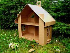 tekturowy domek dla lalek - Szukaj w Google