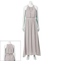 4572cf6d5f6 Jennifer Lopez Silky Maxi Dress - Women s  kohls.com Jennifer Lopez Dress