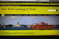 What do you think ??? #Preview of our #English #website that should be open to the public before Tuesday next week.  www.nycandtours.com  #concierge #services #tourguide #sightseeing #unique #customized #individualized #YourTour #YourNYC #GANYC #licensed #multilingual #guides #bestofnyc #yourfriendinnyc #newyork #nyc #newyorker #turistinewyork #nycandtours