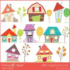 House clipart commercial use - PGCLPK397