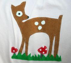 Applique deer Bambi