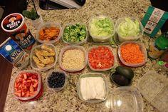 Como organizarte para comer sano toda la semana