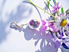 Blüten Charm echte Blüten von flowerring  auf DaWanda.com