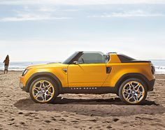 DC100 Sport Concept, the purported replacement to the iconic Land Rover Defender