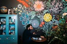 HappyModern.RU | Роспись стен в интерьере (54 фото): оригинальный декор для квартиры | http://happymodern.ru