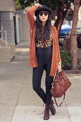 Leopard print & neutral browns.