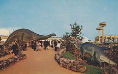 1964 New York World's Fair. Sinclair #Dinoland