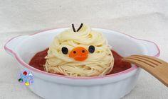3D Kiiroitori pasta | Bento Days