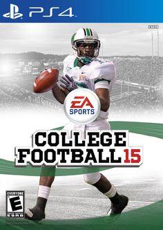 Marshall Thundering Herd QB Rakeem Cato, College Football 15 Cover Concept #RakeemCato