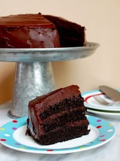 Eva Bakes - There's always room for dessert!: Chocolate caramel cake with sea salt