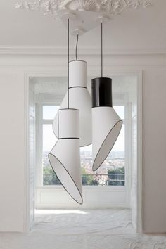 Designheure The gorgeous French lighting label Designheure; this is 'Grand Cargo' by Herve Langlais, available from Boyac.