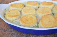 Rotisserie Chicken Queen: Chicken Pot Pie with Refrigerator Biscuits