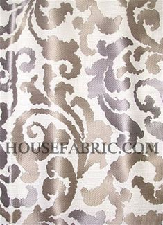 """Graceful Curves Linen - Kelly Ripa Home upholstery fabric or drapery fabric. Content; 60% Poly, 40% Cotton . Repeat; 24"""" V x 14.50"""" H . Double rubs; 24,000. Width; 58."""