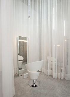 stark while salon. blank slate.   #beautyloveaprons