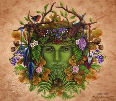 The Coven Avalon      Father Greenman, hear our call  Grant us the wisdom of nature  Gift us with peaceful love, one and all  Bless our hearts with your gentle spirit  )O(