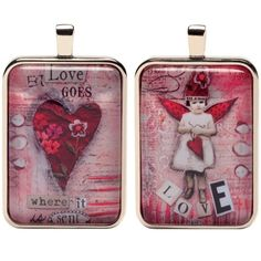 Love Fairies Charm -Eye Candy For The Soul by Sally Jean $11.99