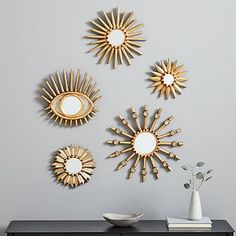 7 Attractive Hacks: Wall Mirror With Lights Beds gallery wall mirror couch.Wall Mirror Ideas Diy whole wall mirror entryway. Wall Mirrors Metal, Mirror Wall Art, Mirror Tiles, Small Mirrors, Floor Mirror, Decorative Mirrors, Decorative Accents, Wall Décor, Hanging Mirrors