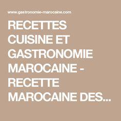 RECETTES CUISINE ET GASTRONOMIE MAROCAINE - RECETTE MAROCAINE DES BRIOUATS AUX AMANDES ET AU MIEL