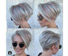 Krótkie fryzury 2016 - modne pixie cut, asymetryczne, z grzywką - Strona 8